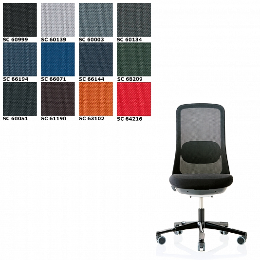 Hag Sofi 7500 Mesh Office Chaire Fabric Select